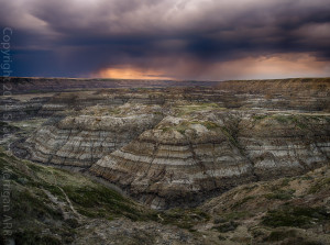 Approaching Storm at Horsethief Canyon