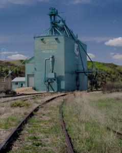 Rosebud, Alberta Grain Elevator