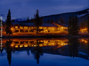 Jasper Park Lodge Evening
